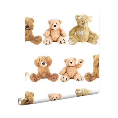Papiertapete Teddybären, 10,05 m x 53 cm