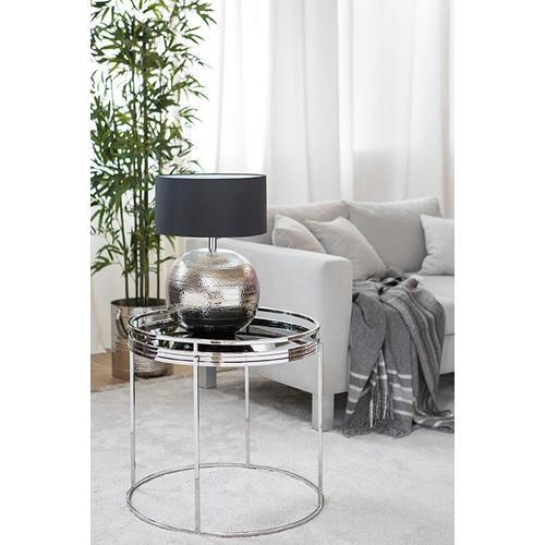 Fink Beistelltisch TRIEST, (Set, Tablett mit Ständer) schwarz Beistelltische Tische