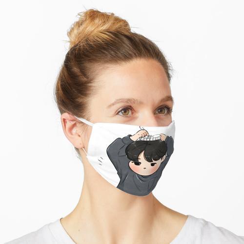 BTS-Jungkook Zeichenschere Maske