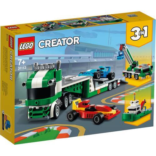LEGO®Creator 31113 Rennwagentransporter, bunt