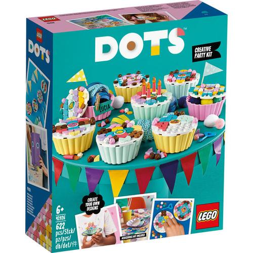 LEGO®DOTs 41926 Cupcake Partyset, bunt