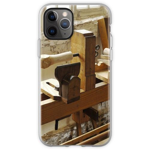 Holzdrehbank Flexible Hülle für iPhone 11 Pro