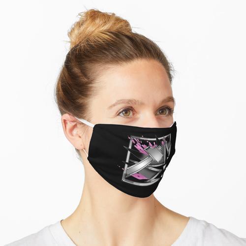 Schlitten Logo Maske