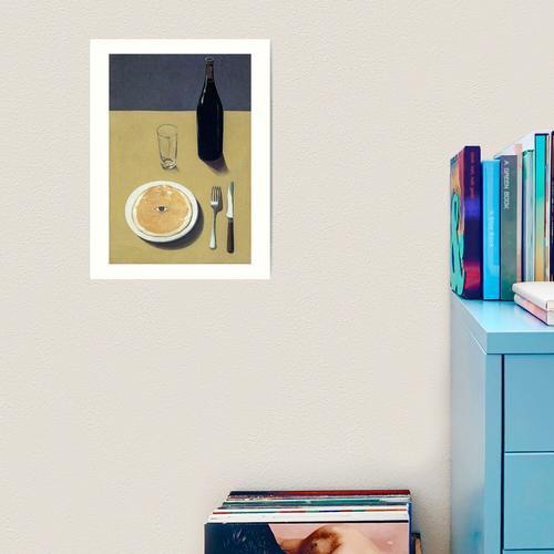 Das Porträt Rene Magritte Kunstdruck