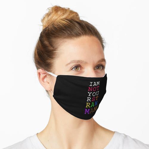 Kein Strohmann Maske