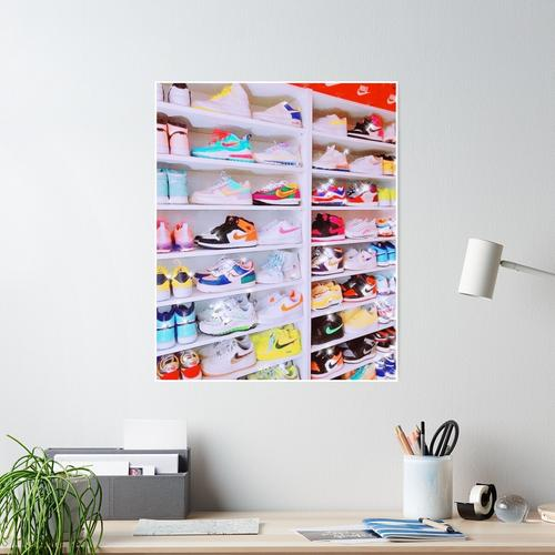 sneaker on sneakers Poster