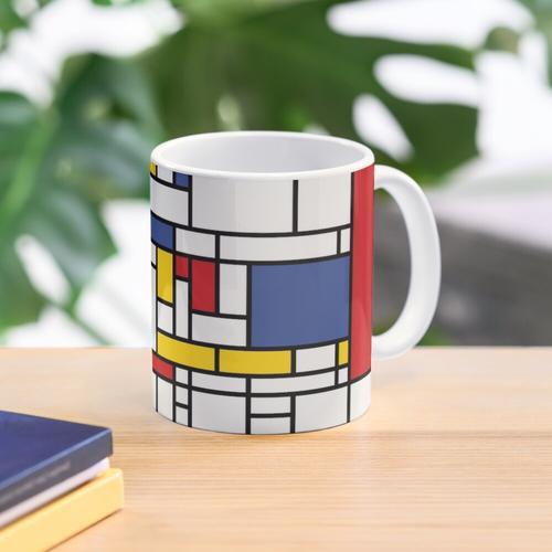 Piet Mondrian Mug