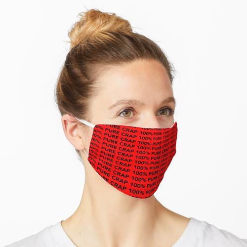 100% PURE CRAP Maske