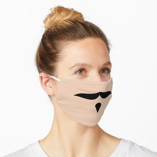 Schnurrbart Schnurrbart Schnurrbart Bart Schnurrhaare - Version 2 Maske