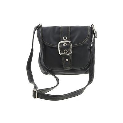 Mondani New York - Mondani New York Crossbody Bag: Black Solid Bags