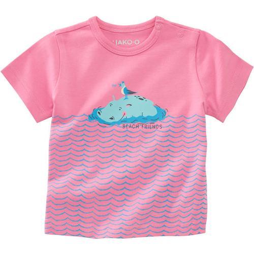 T-Shirt Unterwasserwelt, pink, Gr. 80/86