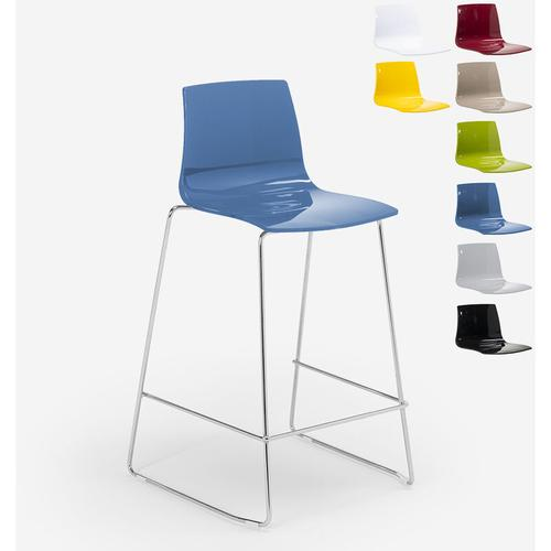 Design Hocker Bar Küche 86cm Design Mini Imola | Blau - Grand Soleil