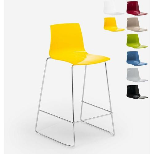 Design Hocker Bar Küche 86cm Design Mini Imola | Gelb - Grand Soleil