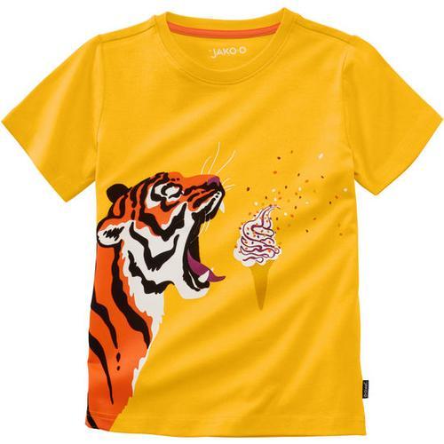 T-Shirt lustige Tiere, gelb, Gr. 140/146