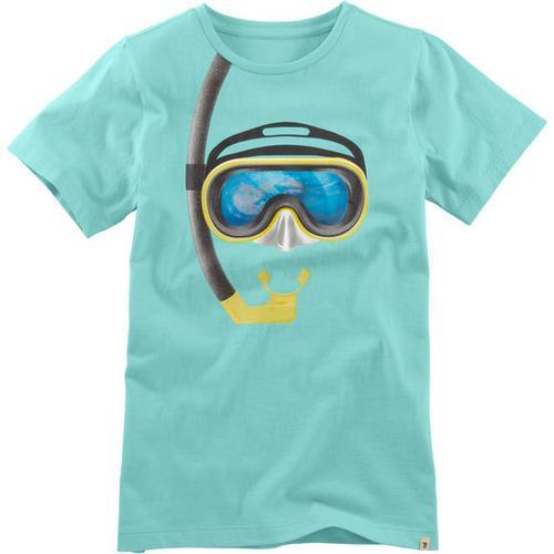T-Shirt Hologramm, türkis, Gr. 164/170