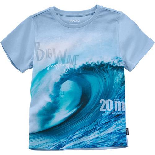 T-Shirt Fotodruck Naturgewalten, blau, Gr. 128/134
