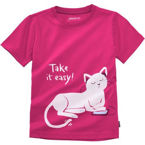 T-Shirt lustige Tiere, rosa, Gr. 152/158