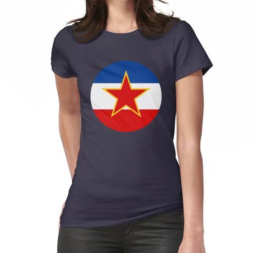 Ex Jugoslawien - Jugoslawien Flagge Frauen T-Shirt