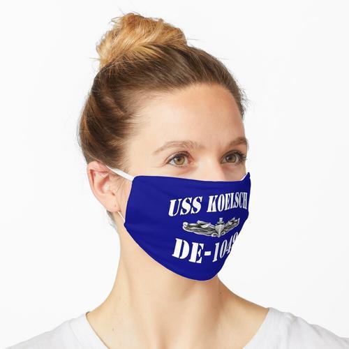 USS KOELSCH (DE-1049) SHIP'S STORE Maske