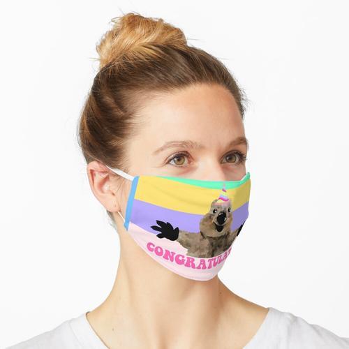Herzliche Glückwünsche!!! Quoka Design Maske