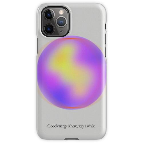 Ruhige Gaußsche Unschärfegradientenkugel iPhone 11 Pro Handyhülle