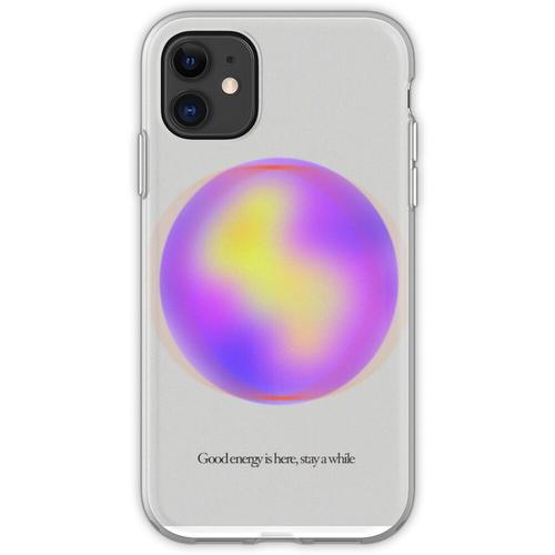 Ruhige Gaußsche Unschärfegradientenkugel Flexible Hülle für iPhone 11