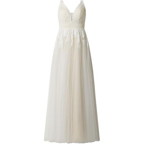 Luxuar Brautkleid aus Spitze und Mesh
