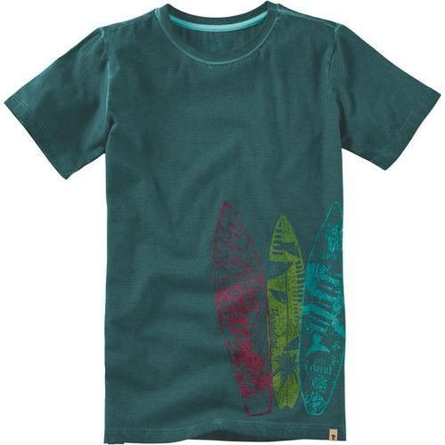 T-Shirt Surfboard, grün, Gr. 152/158