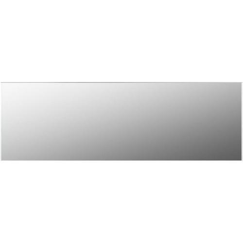 Rahmenloser Spiegel 120x30 cm Glas - Youthup