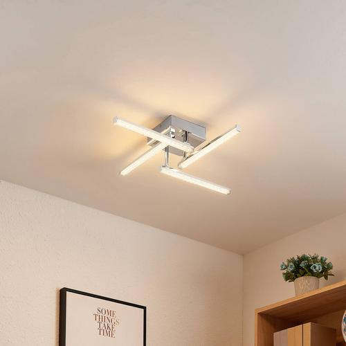 Lindby Henos LED-Deckenleuchte, RGB-Farbwechsel