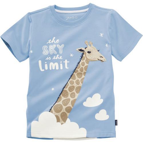 T-Shirt lustige Tiere, blau, Gr. 128/134