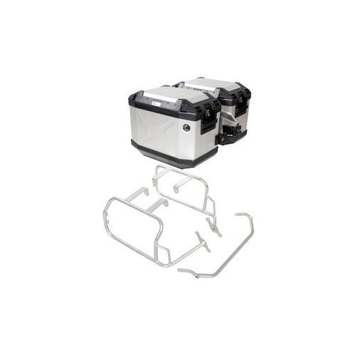 H+B Kofferträger Cutout mit Xplorer Koffer-Set