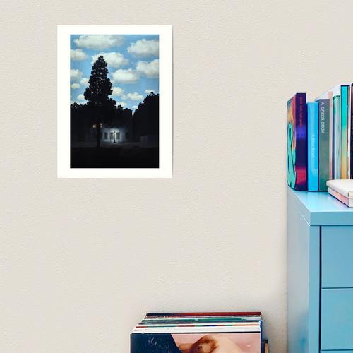 Das Reich des Lichts, Magritte (HQ) Kunstdruck
