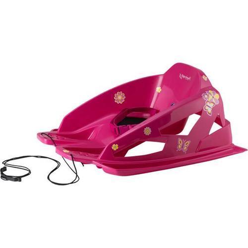 ALPENGAUDI Kinder Schlitten AlpenBambino, Größe - in Pink