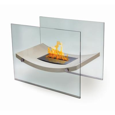 Anywhere Fireplace Floor Standing Fireplace - Broadway Model - Biege - Anywhere Fireplace 90209