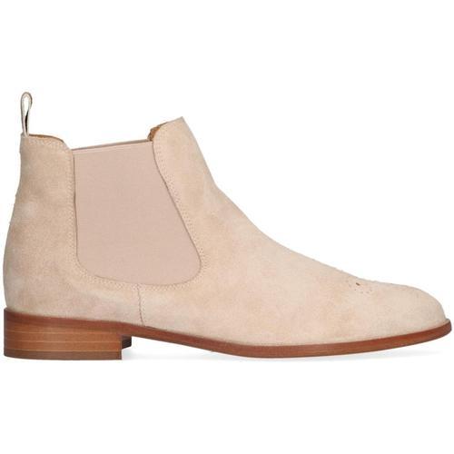 Pertini Beige Chelsea Boots 24782