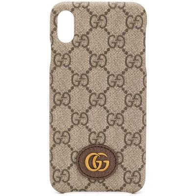 Gucci Coque d'iPhone X/XS GG Oph...