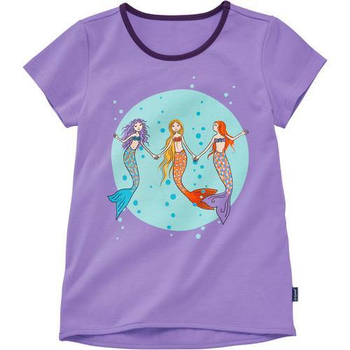 T-Shirt Meerjungfrau, lila, Gr. 152/158