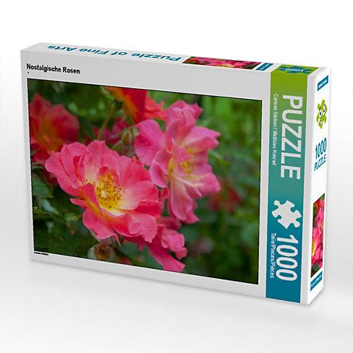 Nostalgische Rosen Foto-Puzzle Bild von Carmen Steiner Puzzle