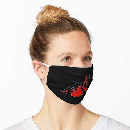 Elegante Frau Maske