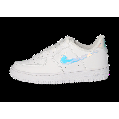 Baskets Nike Air Force 1 Low Plugged In Enfant Blanche