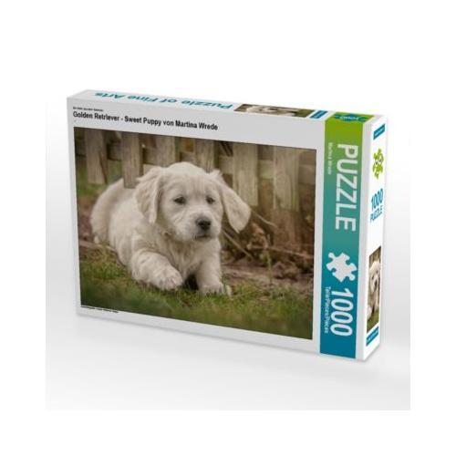 Golden Retriever - Sweet Puppy von Martina Wrede Foto-Puzzle Bild von Martina Wrede Puzzle