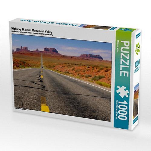 Highway 163 zum Monument Valley Foto-Puzzle Bild von Melanie Viola Puzzle