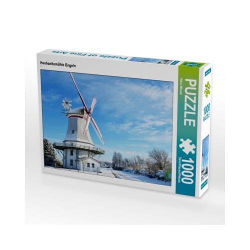 Hochzeitsmühle Engeln Foto-Puzzle Bild von Heinz Wösten Puzzle