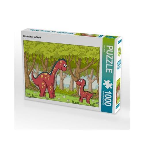 Dinosaurier im Wald Foto-Puzzle Bild von Gabi Wolf Puzzle