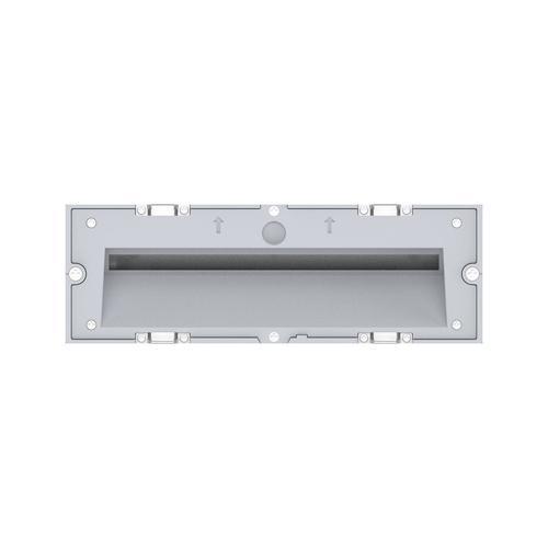 Arcchio Javis LED-Einbaulampe, geriffelt, weiß