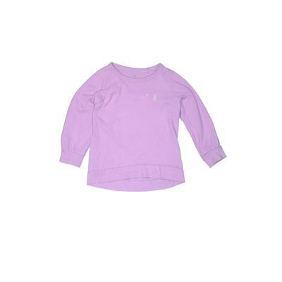 Gap Kids - Gap Kids Sweatshirt: Purple Solid Tops - Size X-Small