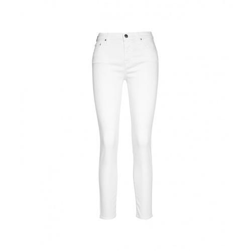 Jacob Cohen Damen Jeans Kimberly Crop Weiß
