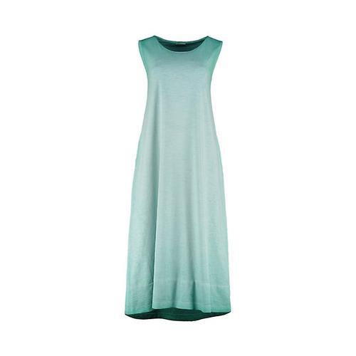 Deerberg Damen Jersey-Kleid Berta smaragdgrün
