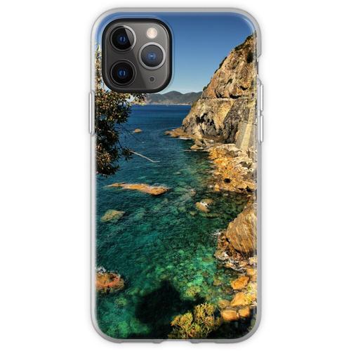 Ligurische Küste Flexible Hülle für iPhone 11 Pro